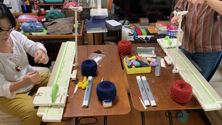 機械編み|アブサラクリコ